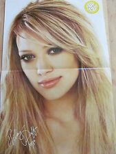 Hilary Duff, Jesse McCartney, Double Two Page Centerfold Poster