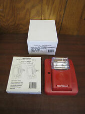 New National Time & Signal SG-C3NSZ 904-1321-002NTS Fire Alarm Strobe