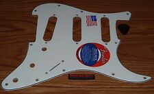Fender Stratocaster Pickguard Jeff Beck American Standard White Guitar Parts USA
