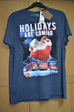BNWT Coca Cola Christmas Truck T Shirt Holidays Are Coming L Large 104-109 41-43