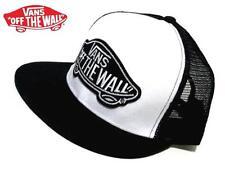 Vans Snapback cap hat Mesh Cap (Black x White) Skateboard Skater SK8 Surf BMX
