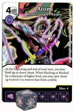107 ATOM Profesor of Physics - Rare - WAR OF LIGHT - DC Dice Masters