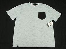 $42 NWT Mens Akademiks T-Shirt Bluez Digital Print Pocket Tee Sz 5XL 5XB 5X M951