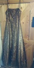 "Stunning Long  Evening Dress / Party Dress by Morgan and Co.  Chest 34""  8 - 10"