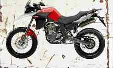 Derbi Terra125 2006 Aged Vintage SIGN A4 Retro