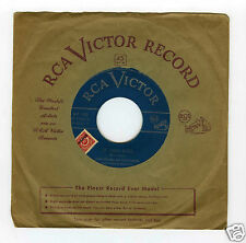 45 RPM SP DUKE ELLINGTON  ST LOUIS BLUES / DRAWING ROOM BLUES (1956)