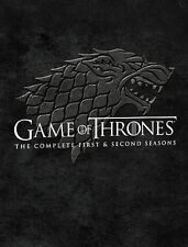 Game of Thrones The Complete First & Second 1 2 Seasons Blu-ray Disc 10-Disc Set