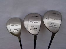 New Titanium Wood set of 3 #Driver,3,5,RH graphite-Men-Senior Flex