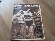 JOURNAL MIROIR DES SPORTS BUT CLUB  709 29 septembre 1958 roger riviere