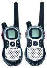 !Lot of 2 Motorola MJ270 MJ430 FRS GMRS 2-WAY Radio Walkie Talkie AA Weather VOX