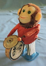 Wind Up Toy Monkey with Mickey/Minnie Mouse on the Drum - C2832