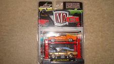 M2 Machines Auto Lift 2 pack Chase 1967 Ford Mustang GT!