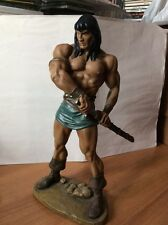CONAN THE BARBARIAN statue HARD HERO MARVEL 35cm