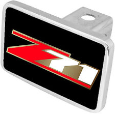 New Chevrolet Z71 Red/Gold/White Logo Hitch Cover Plug