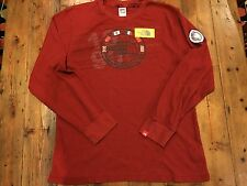 THE NORTH FACE Men's Vintage Red Thermal Shirt- Size Large- Retails $58