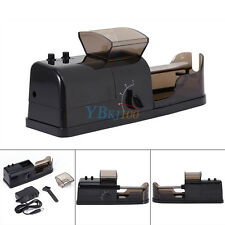 Black Electric Automatic Injector Maker Cigarette Rolling Machine
