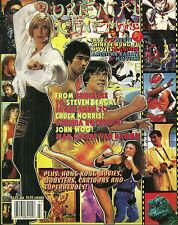 RARE - ORIENTAL CINEMA MAGAZINE #7 - Bruce Lee - Steven Seagal - Chuck Norris