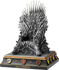 "GAME OF THRONES - Iron Throne 7.5"" Hand Painted Bookend (Noble Collection) #NEW"