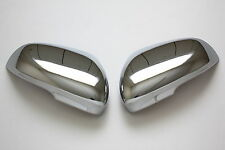 2010 2011 Jaguar XF XK XFR XKR Chrome Door Mirror Covers