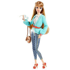 2013 Barbie Style MIDGE DOLL In Polka Dot Jeans & Sweater ~FULLY POSEABLE!~ NEW