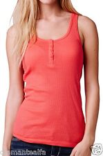 Fox Racing Women's Miss Clean Henley Tank – Wild Cherry sz M