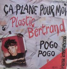 """7"""" French punk MINT-Plastic Bertrand ca Plane Pour Moi"""