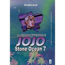 LE BIZZARRE AVVENTURE DI JOJO - STONE OCEAN 7 DI 11 - STAR COMICS NUOVO