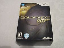GoldenEye 007 Limited Edition (Gold Controller Inside) Video Game WIi New