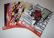 Uncanny Avengers 1 3 4 5 6 7 8 8AU 9 10 11 12 Comic LOT Marvel VARIANT Deadpool