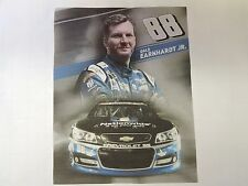 1 NASCAR DALE EARNHARDT JR RACING QUILT BLOCKS # 88 NATIONWIDE FABARIC MATERIAL