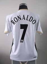 Cristiano RONALDO #7 Manchester United Away Football Shirt Jersey 2006/07 (M)