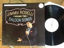 Rare Jimmy Roselli USA Vinyl Album Saloon Songs 1975 Free UK Post