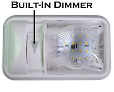 RV Interior Led Ceiling Light Boat Camper Trailer Single Dome 12v 280LM Dimmer