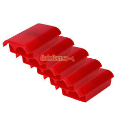 5x New Battery Pack Cover Shell Case for Xbox 360 Wireless Controller Red
