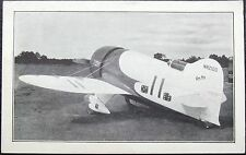 Granville Brothers Robert Granville Autograph Gee Bee Racer ''Rare''