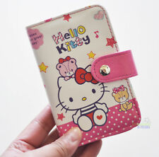 Cute Hello Kitty PU ID Credit Card ID Card Holder Business Cards Case 18 Holders