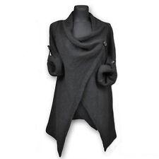 Women's Long Sleeve Knitted Sweater Jumper Knitwear Casual Cardigan Outwear Tops