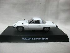 1:64 Kyosho MAZDA Cosmo Sport White Diecast Model Car
