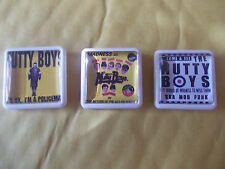 3 NUTTY BOYS MADNESS  BADGES / PINS FREE POSTAGE IN THE UK PHOTO IN LISTING
