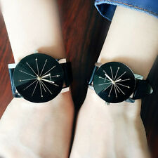 1 Pair Lovers Watch Women Men Wristwatches Couples Clock Quartz Wrist Watches