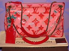 Louis Vuitton Richard Prince Watercolor BONBON Pochette Rose Monogram *Limited*!