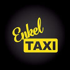 Enkeltaxi Enkel Taxi Auto Aufkleber Sticker Decal JDM Großeltern 13,0 x 10,0 cm