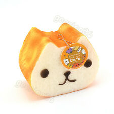 12CM Jumbo Squishy Kapibarasan Toast Slow Rising Bread Tag Cellphone Strap BS