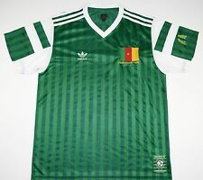 CAMEROON ADIDAS ORIGINALS FOOTBALL SHIRT (SIZE M)