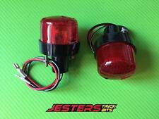 Undertray tail tidy aftermarket RED tail lights
