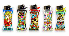Ed Hardy Christian Audigier Mini Curve Refillable Cigarette Cigar Lighter Set 5