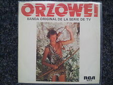 Oliver Onions - Orzowei 7'' Single SUNG IN SPANISH