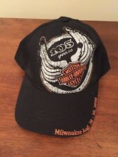 Harley Davidson 105th Anniversary Hat HD Motorcycle Rally Limited Milwaukee Cap