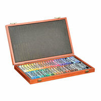 Koh-I-Noor 8596 Toison D'Or 48 Piece Chalk Pastel Art Set in Wooden Case NEW