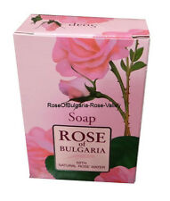Natural Cosmetic Soap With Natural Rose Water NO Preservative 100gr Bath Body